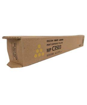 Toner Original Ricoh MP C3003/C3503 Amarillo para 18,000 impresiones.