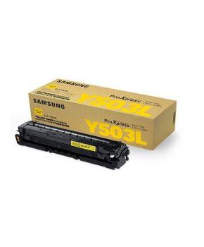 Cartucho de Toner Samsung Y503L (CLT-Y503L) Amarillo Original para 5,000 páginas.