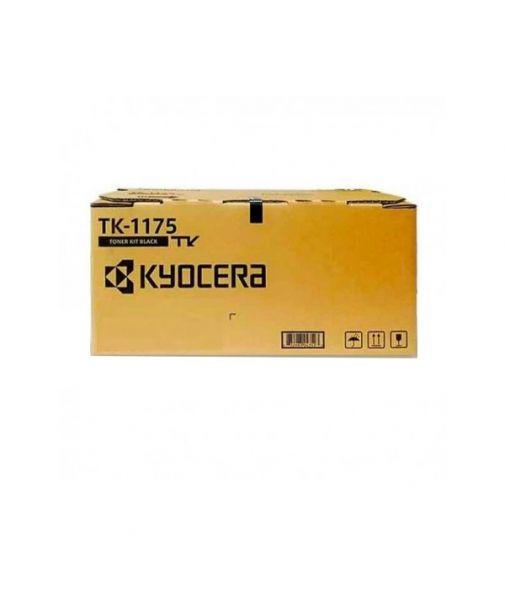 Cartucho de Toner Kyocera TK-1175 Negro Original para 12,000 páginas.