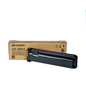 Cartucho de Toner Sharp MX-500NT Negro Original para 40,000 páginas.