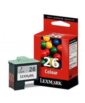 Cartucho color 10N0026 Lexmark Original de alto rendimiento.