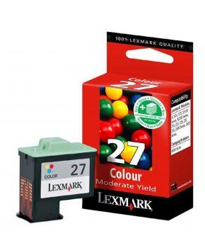 Cartucho color 10N0227 Lexmark Original de bajo rendimiento.