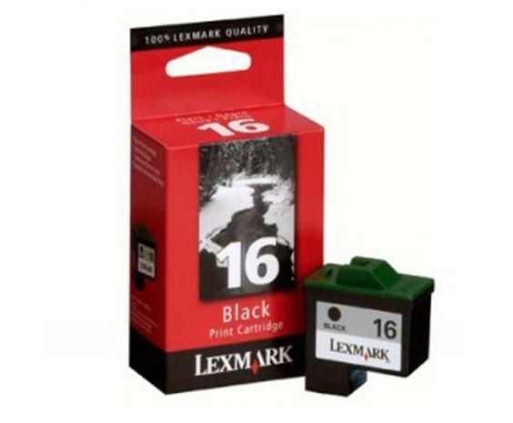 Cartucho negro 10N0016 Lexmark Original alto rendimiento