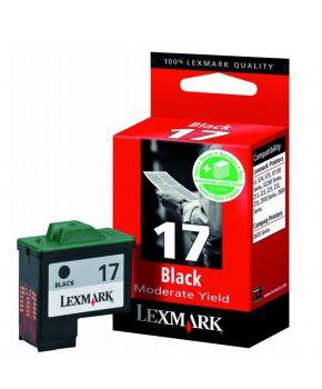 Cartucho negro 10N0217 Lexmark Original de bajo rendimiento.