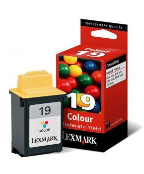 Cartucho color 15M2619L Lexmark Original Bajo Rendimiento (14 ml.)