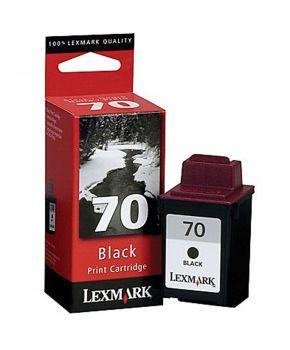 Cartucho negro 12A1970 Lexmark Original de alto rendimiento.