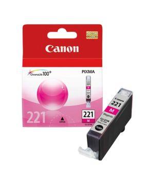 Cartucho de Tinta Canon CLI-221M Magenta Original para 400 páginas.