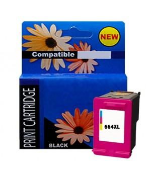 Cartucho HP 664XL Remanufacturado Generacion 2 Color Alto Rendimiento para 330 Impresiones