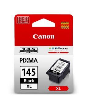 Cartucho de Tinta Canon 145XL Negro Original de Alto Rendimiento para 300 paginas