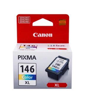 Cartucho de Tinta Original Canon CL-146XL Tricolor para 300 Impresiones.