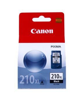 Cartucho de Tinta Canon PG-210XL (2973B017AA) Negro Original de Alto rendimiento para 400 páginas.