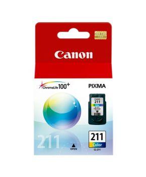 Cartucho Original Canon CL-211 Color de Rendimiento Estandard para 244 paginas.