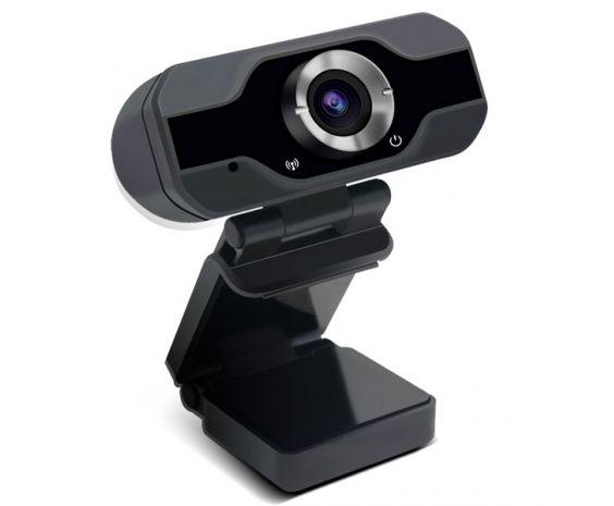 Cámara Web Full HD 1080P con Micrófono.