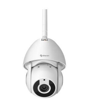 Camará de Seguridad Full HD WI-FI/ Ethernet con Seguidor de Movimiento para Exterior marca Steren.